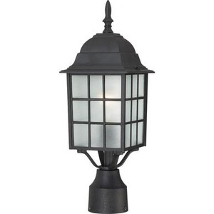 Nuvo 60-4909 Textured Black Post Lantern Fixture