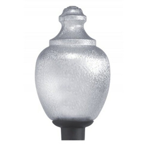 Wave 8017CL Commercial Clear Acorn Street Light Fixture Medium Socket