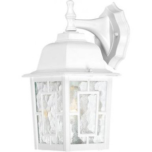 Nuvo 60-3484 White Outdoor Wall Mount Fixture