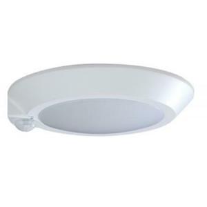 "Nuvo Lighting 62-1310 7"" LED White Ceiling Disk Light with Motion Sensor"