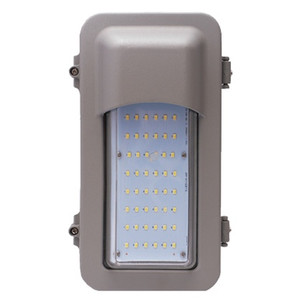 "12"" Explosion Proof LED Light C1D2 Wall Fixture Vertical Cutoff"