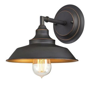 Westinghouse 6344800 Iron Hill One-Light Indoor Wall Fixture