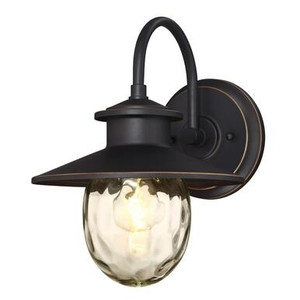 Westinghouse 6313100 Delmont One-Light Outdoor Wall Fixture