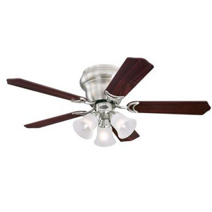 Westinghouse 7231900 Contempra Trio 42-Inch Indoor Ceiling Fan with Dimmable LED Light Fixture