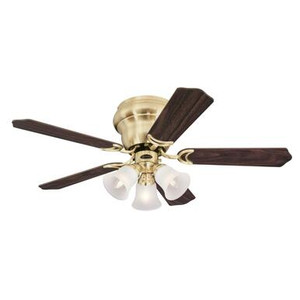Westinghouse 7231500 Contempra Trio 42-Inch Indoor Ceiling Fan with Dimmable LED Light Fixture