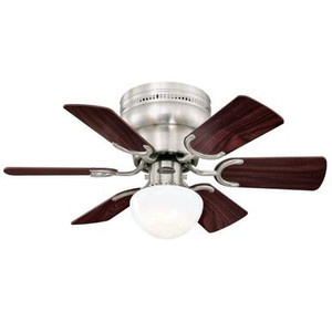 Westinghouse 7230700 Petite 30-Inch Indoor Ceiling Fan with LED Light Fixture