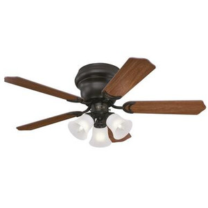 Westinghouse 7231300 Contempra Trio 42-Inch Indoor Ceiling Fan with Dimmable LED Light Fixture