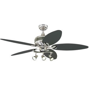 Westinghouse 7223100 Xavier II 52-Inch Indoor Ceiling Fan with Dimmable LED Light Fixture