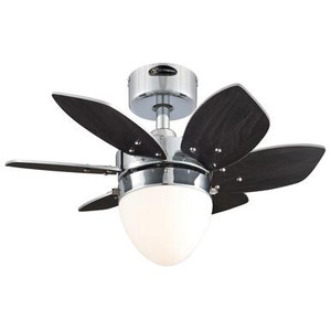 Westinghouse 7236900 Origami 24-Inch Indoor Ceiling Fan with Dimmable LED Light Fixture