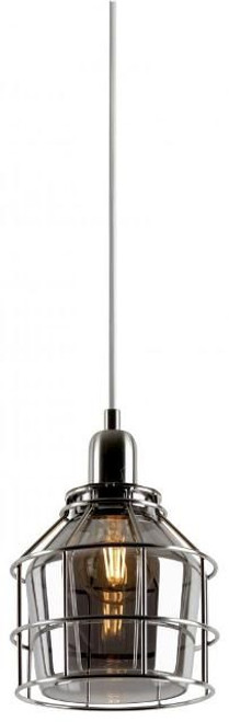 Sunset F3615-80 Plover Smokey Glass 1 Light Pendant