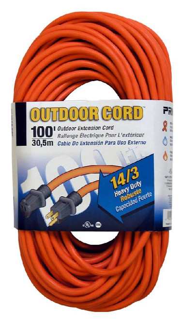 Bergen OC100143 100ft 14/3 Heavy Duty Extension Cord