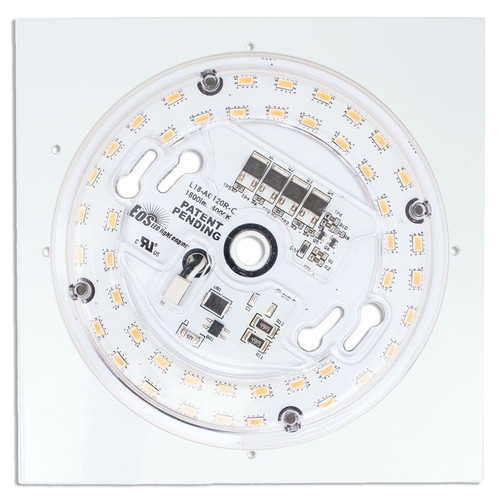 23W Direct Wire LED Fixture Retrofit 4000K