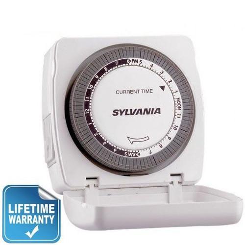Sylvania SA100 Lamp Appliance Indoor Light Switch Timer | 15 Amp