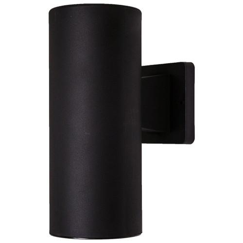 10W LED Black Dark Sky Wall Light 4100K
