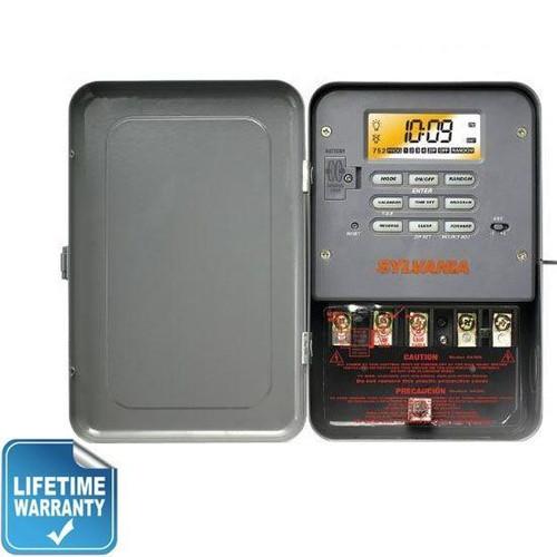 Sylvania SA307 Industrial Digital Timer Switch Single Throw 240V