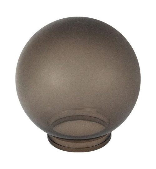 Replacement Bronze 6 Inch Outdoor Acrylic Light Globe | Lip