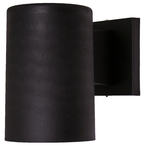 10W LED Black Dark Sky Small Outdoor Wall Light 2400K