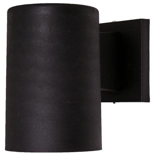 10W LED Black Dark Sky Small Outdoor Wall Light 5000K