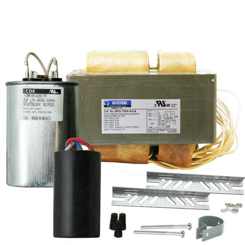 Keystone MPS-750A-Q-KIT 750W M149 Pulse Start Ballast Kit 4 Tap