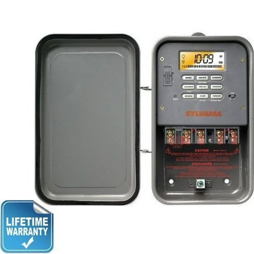 Sylvania SA315 Industrial Wet Location Digital Timer | 240V 40A