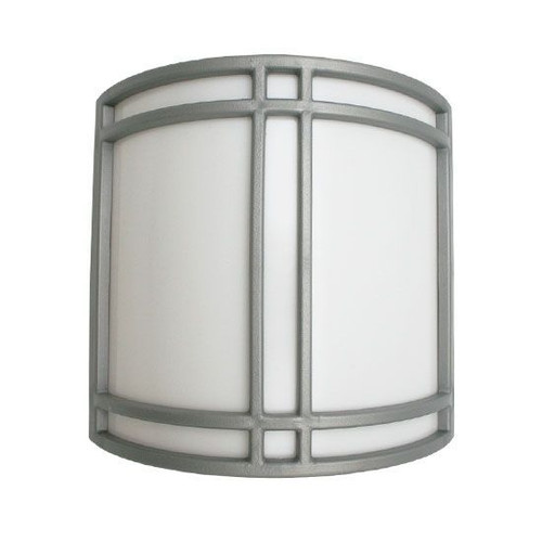 Decorative ADA Curved LED Wall Sconce Ultra Chrome Trim