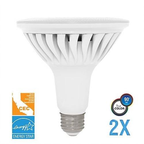 Euri Lighting EP38-4001cecw-2 LED PAR38 Light Bulb