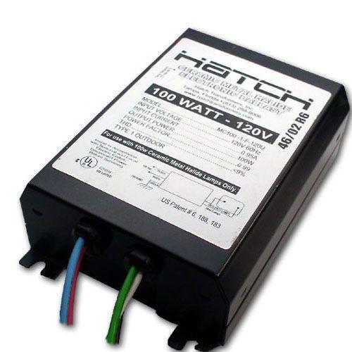 Hatch MC100-1F-120U Ceramic Metal Halide Ballast 100W 120V