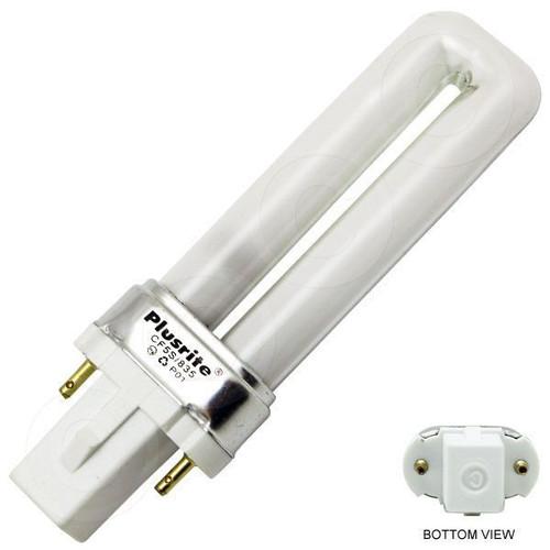 Plusrite CF5S/835 CFT5W/G23/835 4001 5W CFL Plug-In Bulb 3500K