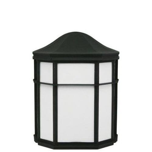 Incon 34215-E26 Black Porch Light 60W Max