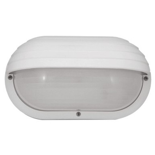 Incon 33261-E26 White Outdoor Eyelid Wall Light