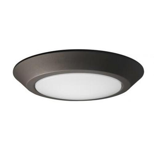 Nuvo 62-1167 Mahogany Bronze Disk Light Fixture
