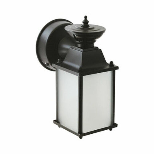 Euri Lighting EOL-WL56BLK-1220cec LED Exterior Black Wall Lantern