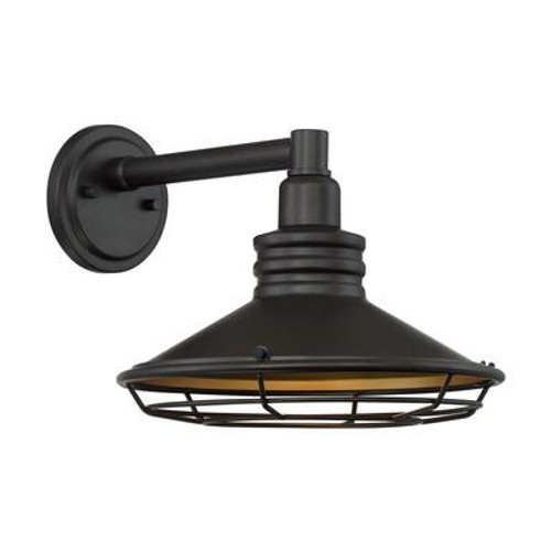 Nuvo 60-7042 Bronze and Gold Wall Mount Fixture