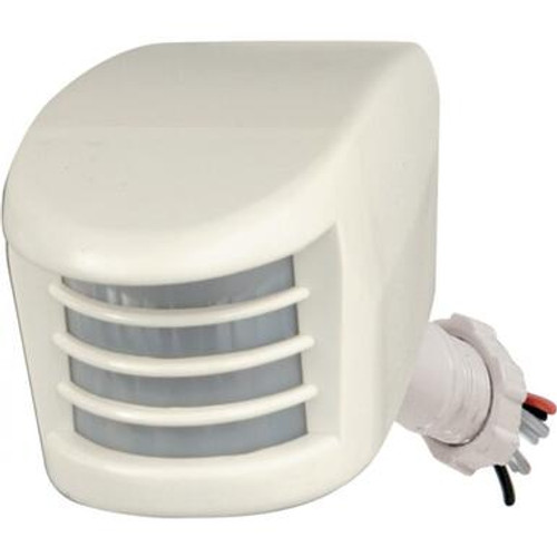 Nuvo SF76-500 White Add On Motion Sensor Fixture