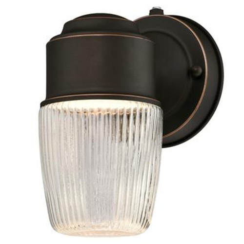 Westinghouse 6106900 One-Light LED Outdoor Wall Fixture with Dusk to Dawn Sensor