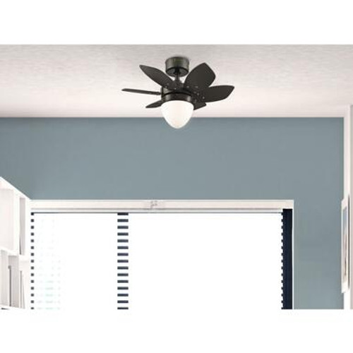 Westinghouse 7232800 Origami 24-Inch Indoor Ceiling Fan with Dimmable LED Light Fixture