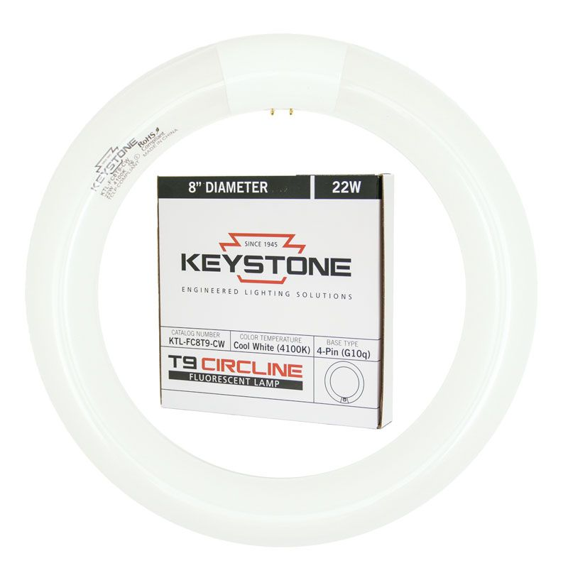 ProLume FC8T9CW 37501 22W FC8 T9 8IN CIRCLINE Cool WHT 12 Piece