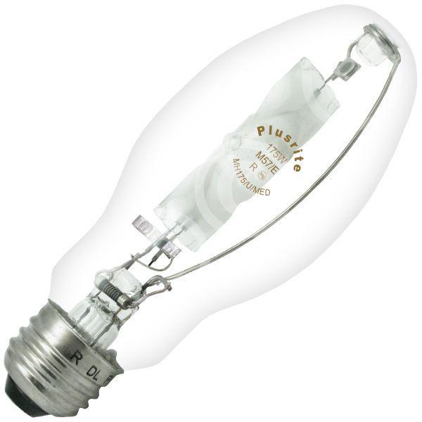 2 Pack 175 Watt Metal Halide Light Bulbs M57 ED17 MH Lamps MH175//MED//U 4K
