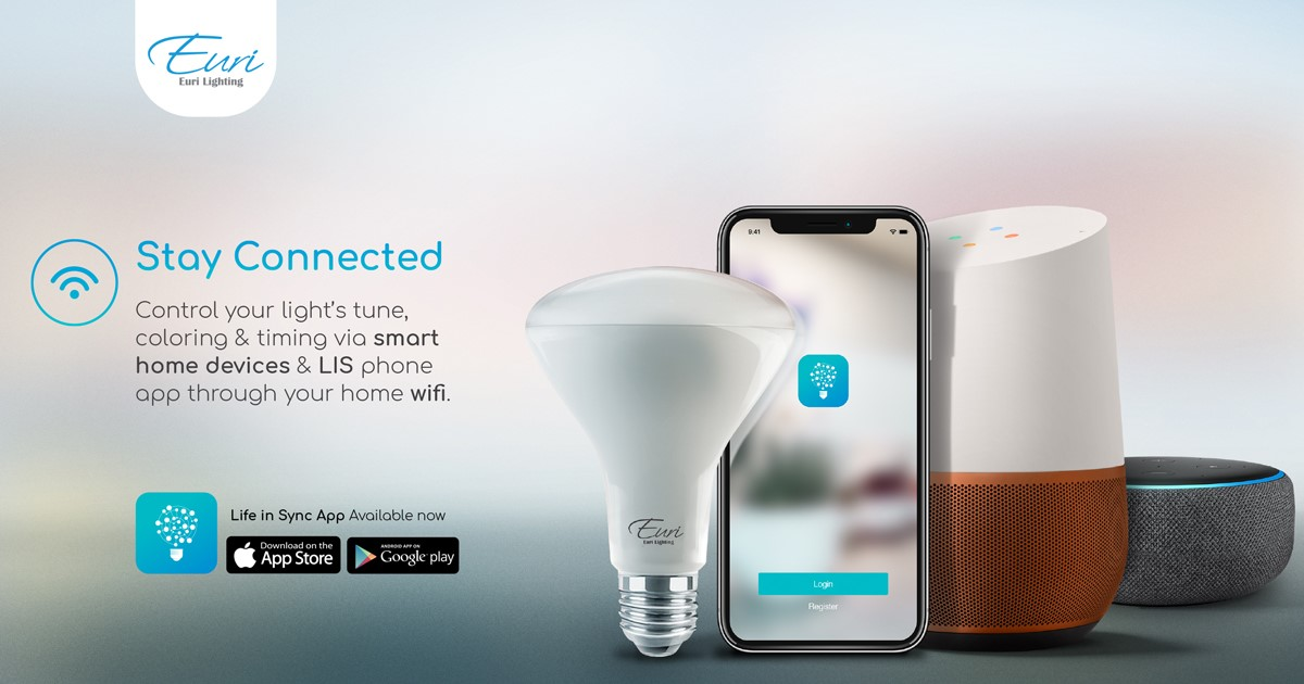 Euri LED Smart Lighting is here, in A19 and BR30 shapes!