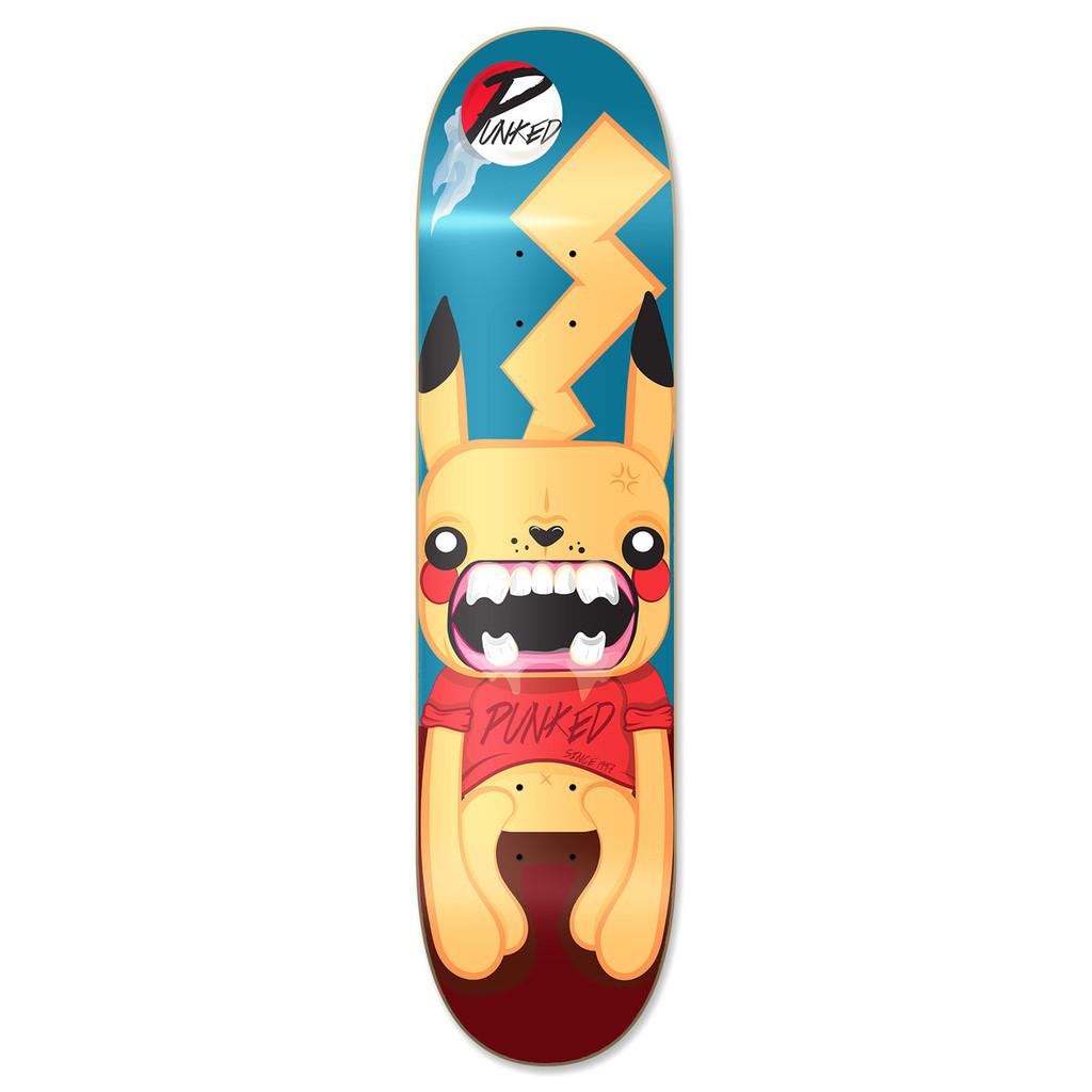 Graphic Pika Skateboard Deck