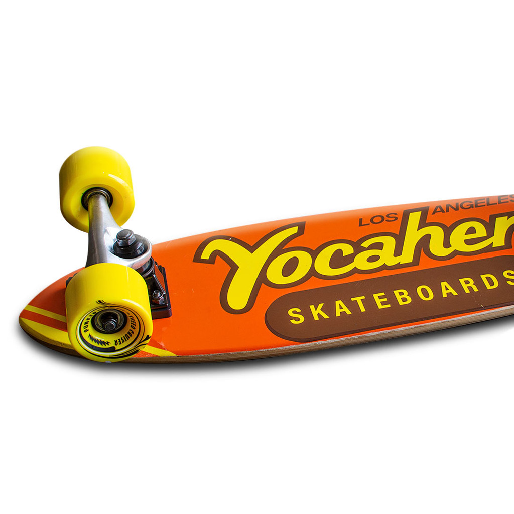 Yocaher Complete Micro Cruiser Skateboard Longboard  - CANDY Series - PB & C