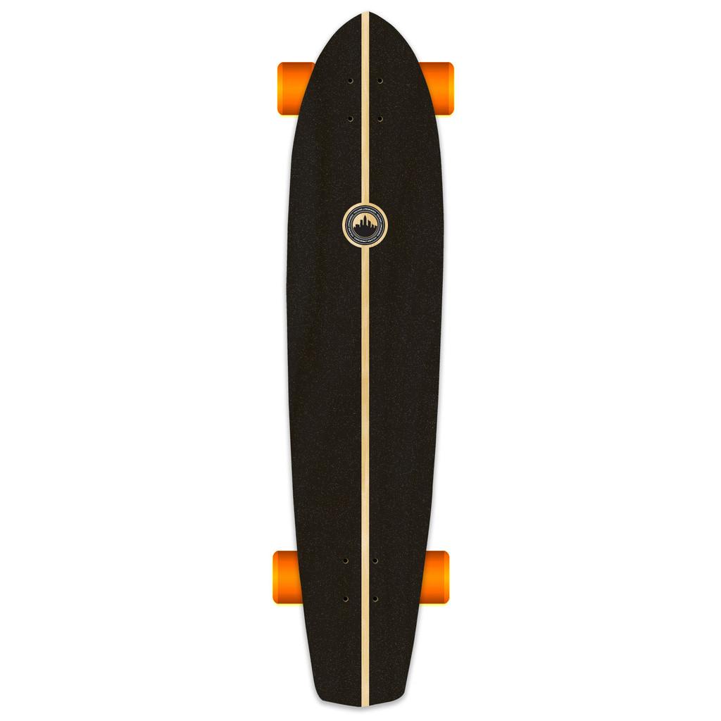 Yocaher Slimkick Longboard Complete - Earth Series - Wind