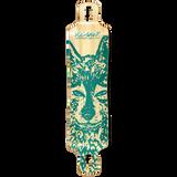 Yocaher Lowrider Longboard Deck - Spirit Animal WOLF