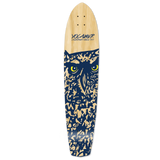 Yocaher Slimkick Longboard Deck - Spirit Animal OWL