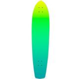 Yocaher Slimkick Longboard Deck - Gradient Green