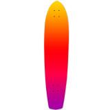 Yocaher Slimkick Longboard Deck - Gradient Pink