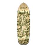 Yocaher Old School Longboard Deck - Spirit Animal Series - Lion