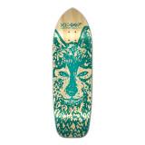 Yocaher Old School Longboard Deck - Spirit Animal Series - Wolf