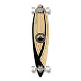 Yocaher Pintail Longboard Complete - Crest Onyx
