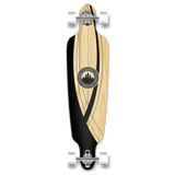 Yocaher Drop Through Longboard Complete- Crest Onyx